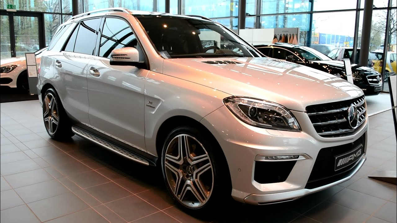 2014 New Mercedes Benz ML 63 AMG - YouTube
