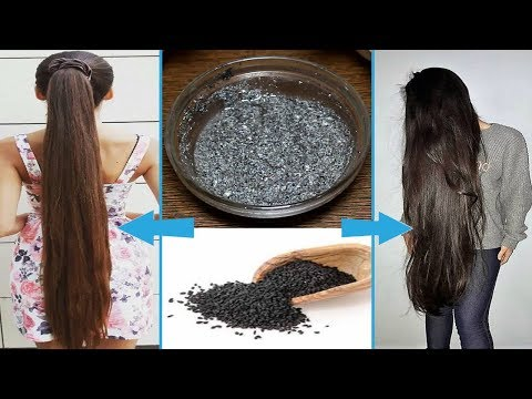 How to grow hair super fast with black seeds Kalonji  Fast HAIR GROWTH   Stop HAIR LOSS Completely