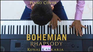 Queen-Bohemian Rhapsody (Piano Cover) without vocal parts||Kunal Kankaria