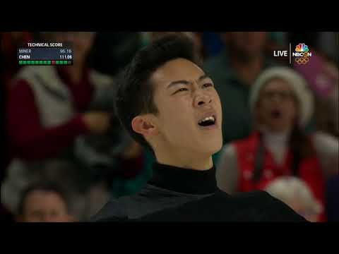 Nathan Chen wins 2018 national title with five quads