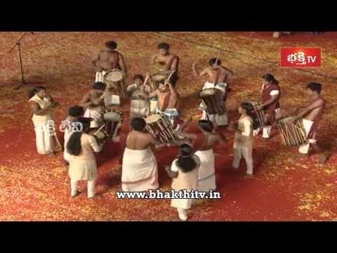 Kerala Pamba Melam Dance Performance at Koti Deepothsavam 2015 - 10th Day
