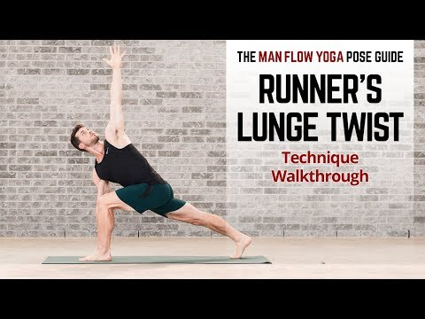 Runner's Lunge Twist Pose Guide Technique Walkthrough