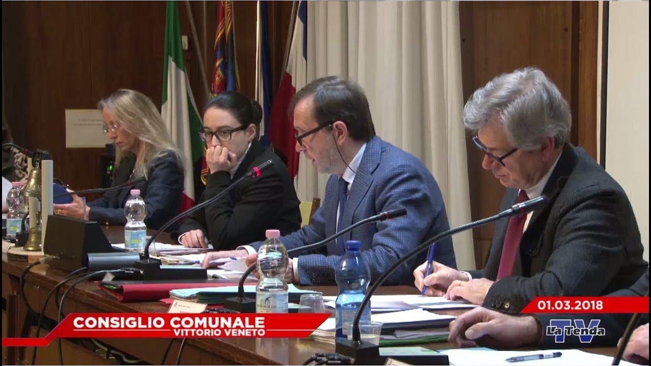 CONSIGLIO COMUNALE VITTORIO VENETO - Seduta del 01.03.2018