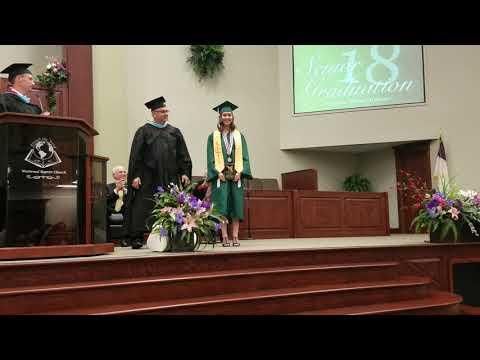 Westwood Baptist Academy- Valedictorian & Saludtorian