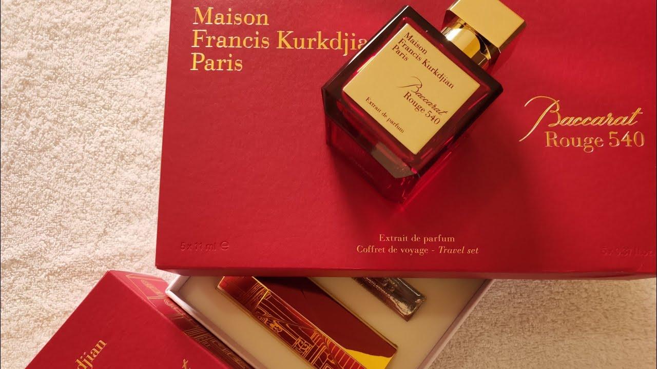 Baccarat Rouge 540 Extrait De Parfum Parfum Review Indonesia Youtube