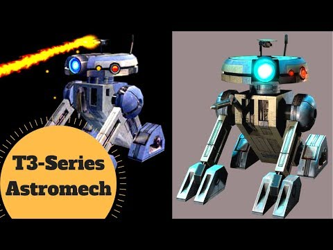 Droid That Set The EMPEROR On FIRE! - T-Series Astromech & T3-M4 - Star Wars Old Republic Lore
