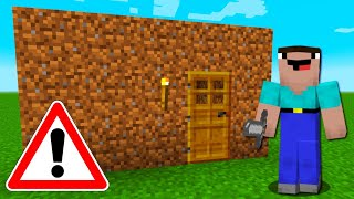 Worlds Biggest Minecraft Noob Builds A House Youtube