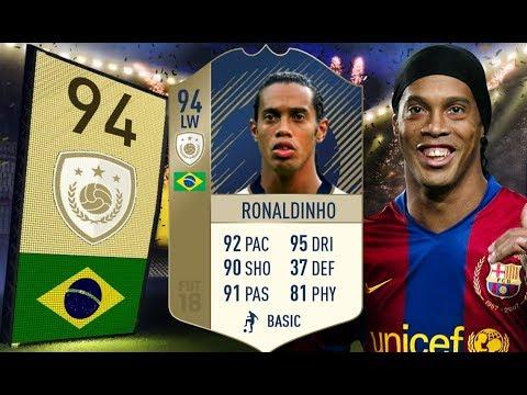 FIFA 18 - Takich piłkarzy już nie ma - 94 Prime Ronaldinho!