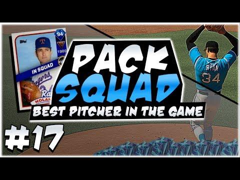 94 NOLAN RYAN DEBUT! PACK SQUAD #17! MLB 17 DIAMOND DYNASTY!