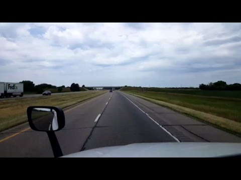 BigRigTravels LIVE! - Council Bluffs, Iowa to Elm Creek, Nebraska - Interstate 80 West - 7/7/17