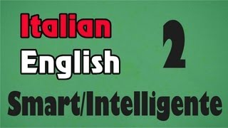 Italian/English Lessons: intelligente - Smart