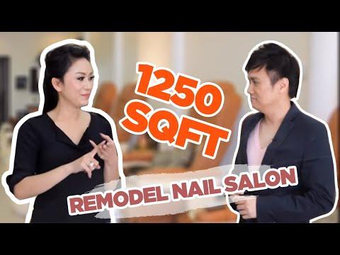 Nails Today Show With Di Ai Hong Sam Remodelling Nail Salon 1250 Sqft Youtube