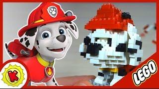 Лего. Щенячий Патруль. Пожарный Маршал из LEGO. Paw Patrol. Marshall.