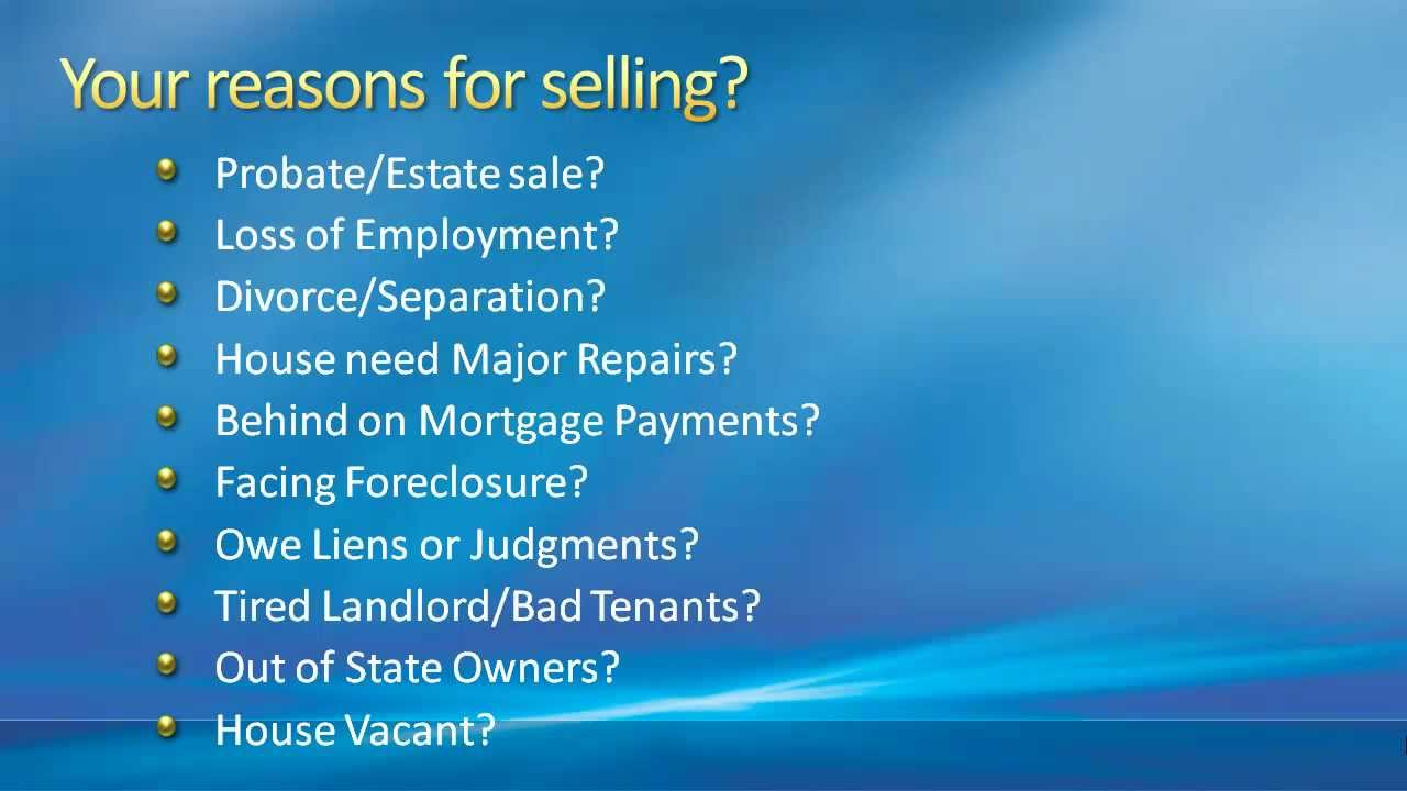 We Buy Houses Baltimore - Sell Your House Fast Baltimore, Maryland ...