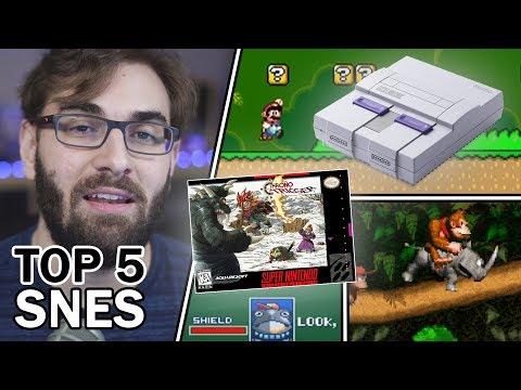 TOP 5 SNES - Os Melhores Jogos De Super Nintendo! | BRKsEDU