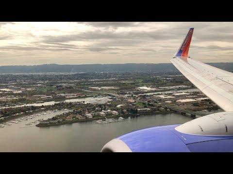Southwest Airlines Boeing 737-700 | Landing in Portland, Oregon