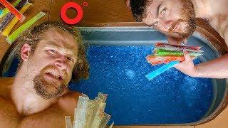 EXTREME ICE BATH FREEZE POP CHALLENGE
