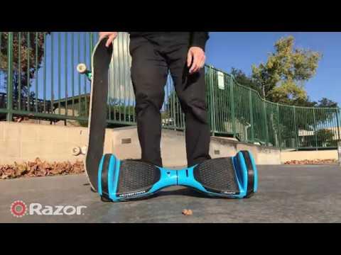 Hoverboard vs. Skateboard: Razor HoverTrax Durability Test  YouTube
