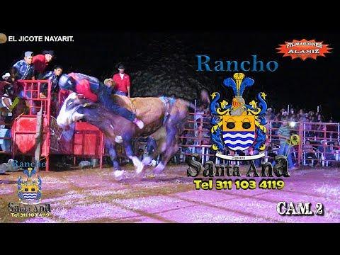 HASTA EL BUCHE LO MANDO ESTE TORO DE RANCHO SANTA ANA EL TEQUILERO VS LLAVERO DE NAYARIT