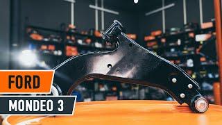 Cum se inlocuiesc brațul inferior al suspensiei de pe față pe FORD MONDEO 3 TUTORIAL | AUTODOC