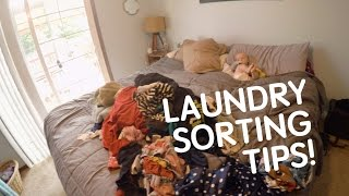 Tips For Sorting Laundry Fast! - Simply Kate