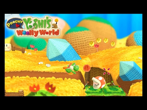 Yoshi Wolly World stable 60fps (4k) [Cemu 1 7 2c] Gameplay +