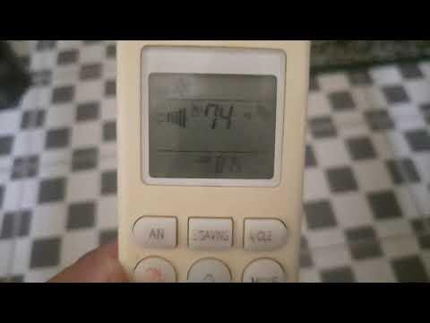 Review fungsi fungsi remote AC LG dual inverter 1/2 PK. Cara setting jam AC LG dual inverter 1/2 PK..