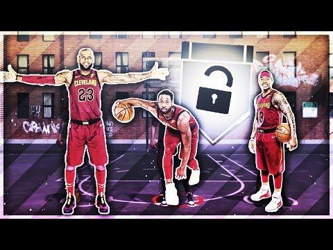 NEW CAVS BIG 3 AT THE PARK! LEBRON, D WADE, & ISAIAH THOMAS! NBA 2K18