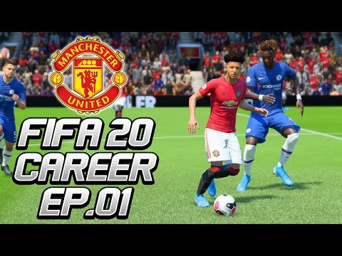 FIFA 20 | Manchester United Career Mode - 'OLE'S OUT!' | #01