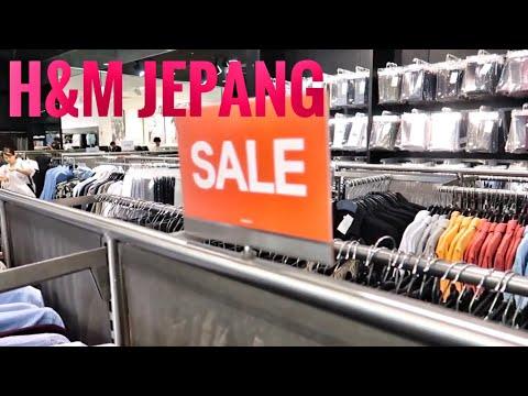 HGJ VLOG 58 - Harga H&M Di Jepang SALE Gila2 An