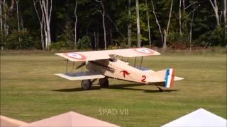 Rhinebeck Jamboree 2013   Fokker DVII vs SPAD VII Partie Deux