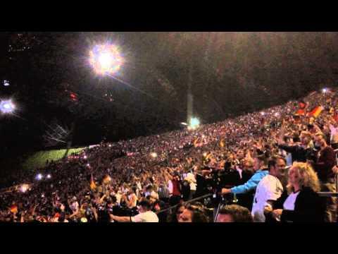 Reaction in Munich to Mario Götze's World Cup Final Goal