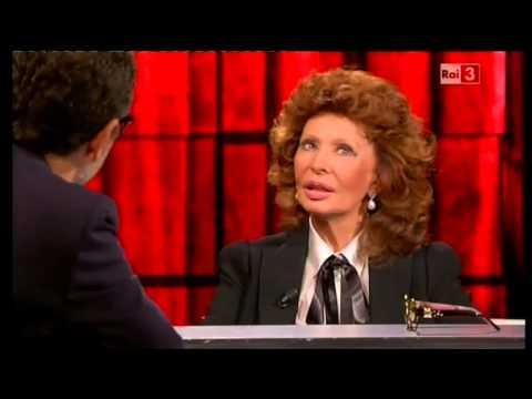 Sophia Loren ospite a Che Tempo Che Fa del 05/10/2014