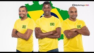 Baixar Brazilian Football Legends Discover Their Roots With MyHeritage DNA