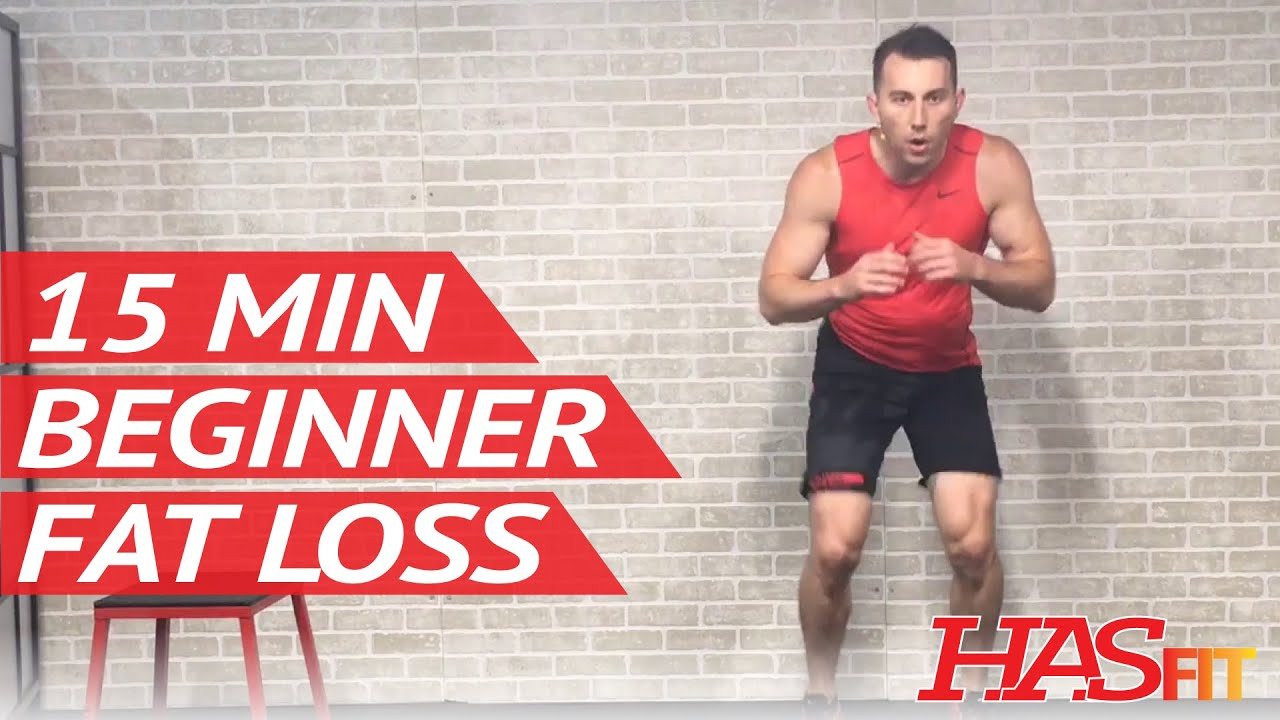 15 Min Fat Burning Workout For Beginners Workout Routine Beginner Workouts For Fat Loss Youtube