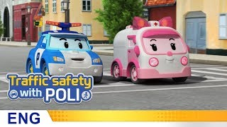 Trafficsafety with Poli | #16.Don't turn back when you cross the road
