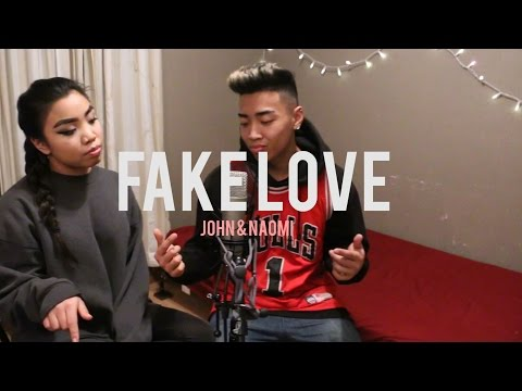 Drake - Fake Love (Cover By John & Naomi)
