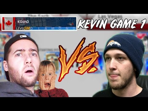 KEVIN WANTS HIS REVENGE!? FUZZY VS KEVINGOHD GAME 1! MLB THE SHOW 18 YOUTUBER LEAGUE