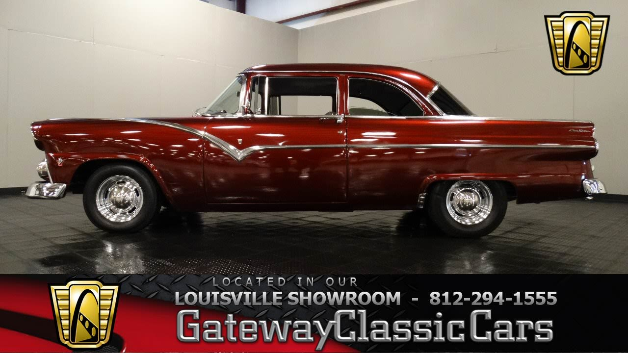 1955 Ford Fairlane  Louisville Showroom  Stock 966  YouTube