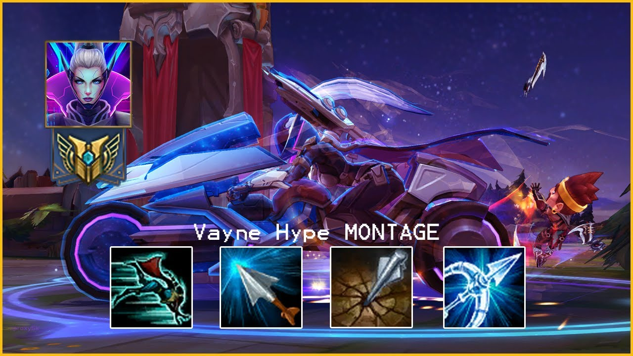 GentleCarry Vayne Montage - League of Legends Best ADC Plays 2020