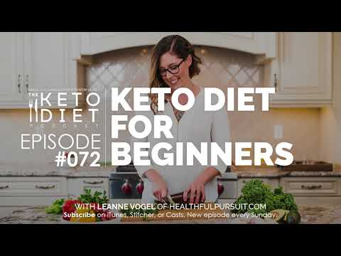 #072 The Keto Diet Podcast: Keto Diet for Beginners