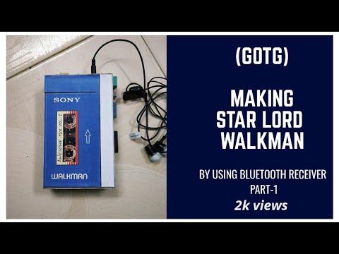 (DIY) Making Guardians Of The Galaxy Star-lord Walkman PART-1   JOHN TECH VIDEO ..