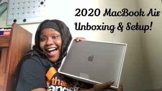 2020 MACBOOK AIR UNBOXING & SETUP