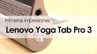 Conoce la nueva Lenovo Yoga Tab 3 Pro