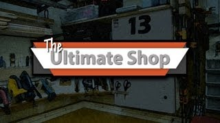 The Ultimate Shop! - (wood Shop) Must See! Kim R. Best