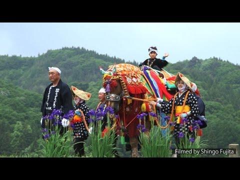 チャグチャグ馬コ Chagu Chagu Horse Festival of Iwate prefecture