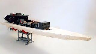 [MOC] Lego Technic RC Boat Prototype V3 - Tests - With SBrick