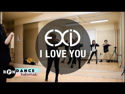 EXID I Love You Dance Tutorial (Chorus)