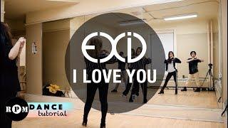EXID \I Love You\ Dance Tutorial (Chorus)