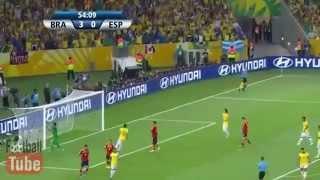 Brezilya-3 İspanya-0   Konfederasyon Kupası 2013  Geniş Özeti ) HD